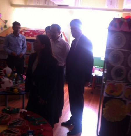 cumhuriyet ilköğretim okulu okuma bayramı'nı kutladı