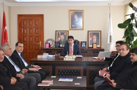 il genel meclis başkanı şerafettin atalay ziyareti