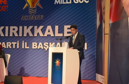 kırıkkale ak parti il başkanlığı divan toplantısı