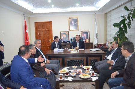 sayın adalet bakanımız bekir bozdağ'ın belediyemizi ziyareti