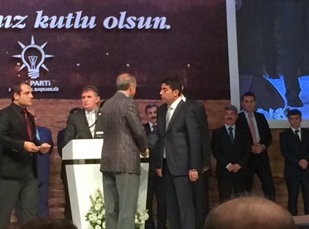 sn başbakanımızın katılımıyla gerçekleşen rozet takma töreni