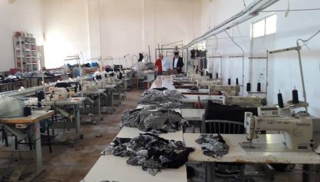 tekstil fabrikamızı yeniden hizmete açtık